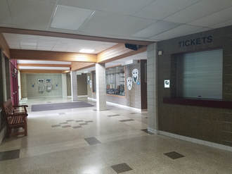 Lobby and box office